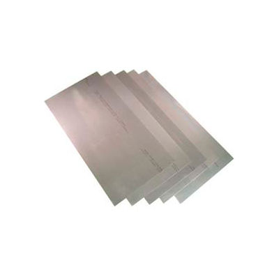 "9 Piece Steel Shim Stock Assortment 8"" X 12"" Sheets - Min Qty 3"