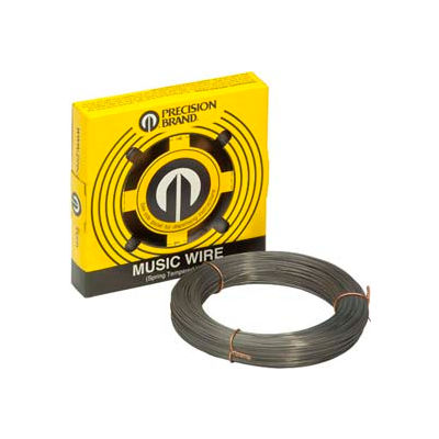 "0.033"" Diameter Music Wire, 1/4 Pound Coil - Min Qty 6"
