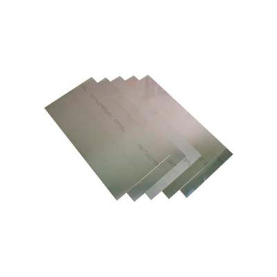 """8 Piece Stainless Steel Shim Stock Assortment 6"""" x 12"""" Sheets"""
