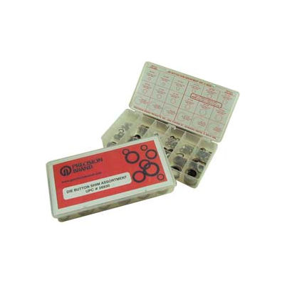 450 Piece Die Button Shim Assortment - Made In USA