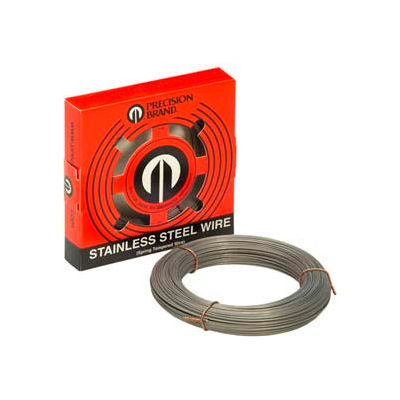 """0.120"""" Diameter Stainless Steel Wire, 1 Pound Coil"""