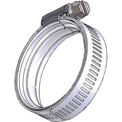 """WS40 WaveSeal 360™, 9/16"""" Band, Constant Tension Hose Clamp, 1-13/16"""" - 2-13/16"""" Dia. 10-Pack"""