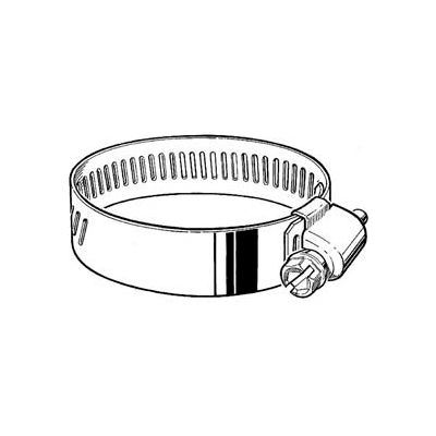 """HD10S 9/16"""" Band, Heavy Duty 3-Piece Stainless Worm Gear Hose Clamp, 9/16"""" - 1-1/16"""" Dia. 10-Pack"""