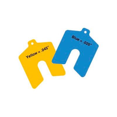 "5"" x 5"" x 0.045"" Yellow Sof' Shoe® Elastomer Shim (Pack of 10) - Made In USA"