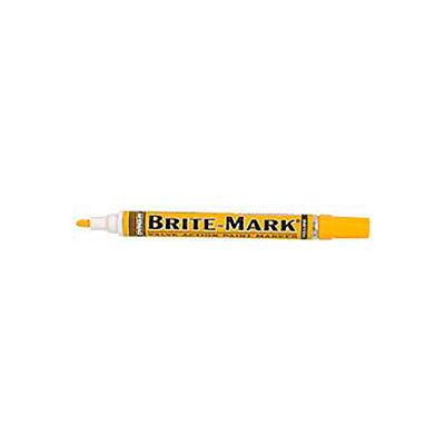 Dykem® 84004 - Brite-Mark® Medium Yellow Marker (Pack of 12)