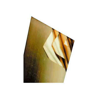 "Laminated Brass Shim 0.032"" Thick, 0.002"" Laminations, 8"" x 24"" Sheet"