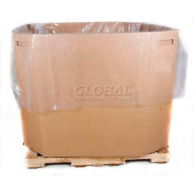 "Global Industrial™ Gaylord & Tote Bin Liner, 51""Lx49""Wx73""H, 3 Mil - Pkg Qty 50"