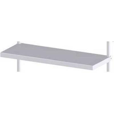 "Prairie View CANT1824, Cantilever Shelf, Adjustable Solid Shelf, 18""W x 2""H x 24""L, Aluminum"