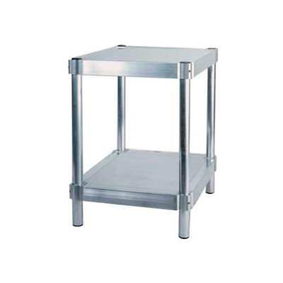"Prairie View A183024-2, Shelving Unit, 2 shelf, 18""W x 30H x 24""L, Aluminum"
