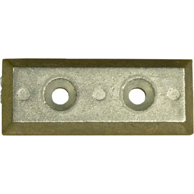 Performance Metals Bosler Strainer Anode Aluminum 0.2 Lbs, 3-3/4 x 1-1/2 x 1/2 - HBSLA