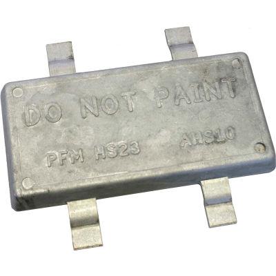 Performance Metals 10 Lb Aluminum Strap Anode - HS23A-A