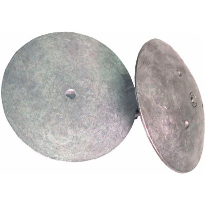 "Performance Metals® 6 1/2"" dia  (R7) Rudder Anode"