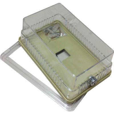 PSG BTGUWM Thermostat Guard Metal Ring Base: 6.75 Hx4.5 Wx3.563 D