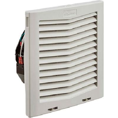 Hoffman HF Series 10 Inch Side-Mount Filter Fan for Enclosure, 159 CFM, 115V