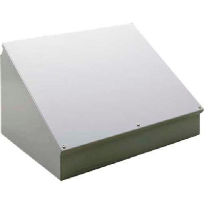 Hoffman C20C24SS, Consolet, Sloped Cover, Type 12, 20.00x24.00x13.09in