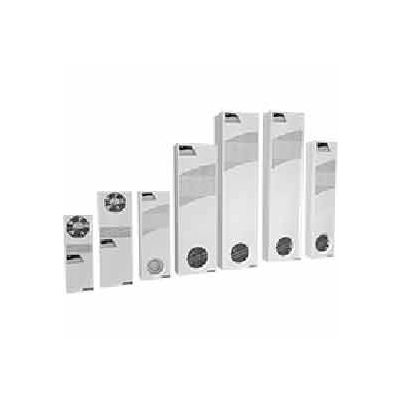 Hoffman® Mid-Size Heat Exchanger XR290816012 Light Gray 115V 50/60Hz, 29-1/2x10x3-1/16