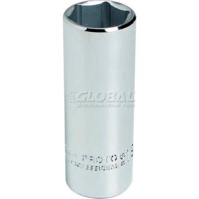 "Proto J5013MH 3/8"" Drive Deep Socket 13mm - 6 Point, 2-1/8"" Long"