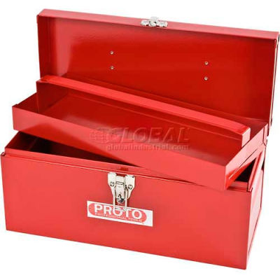 "Proto J9954-NA General Purpose Tool Box - Single Latch - 14""L X 6""D X 6-1/2""H"