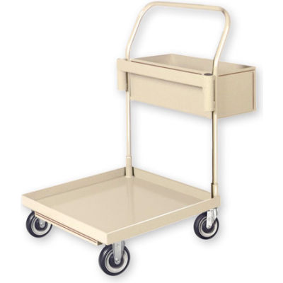 Steel Cleaning Cart - Gray