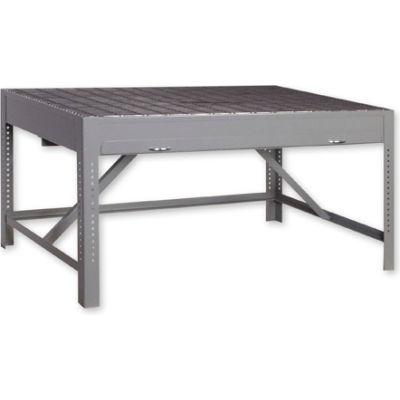 "Pro Welding Bench - 60""W x 36""D Gray"