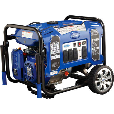 Ford FG7750PE, 6250 Watts, Portable Generator, Gasoline, Electric/Recoil Start, 120/240V