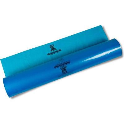 "Armor Poly® VCI Sheeting 240"" x 100' 4 Mil Blue Roll"