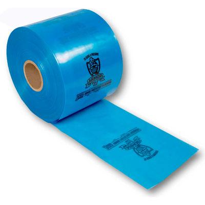 "Armor Poly® VCI Tubing 8"" x 1500' 4 Mil Blue, 1 Roll"