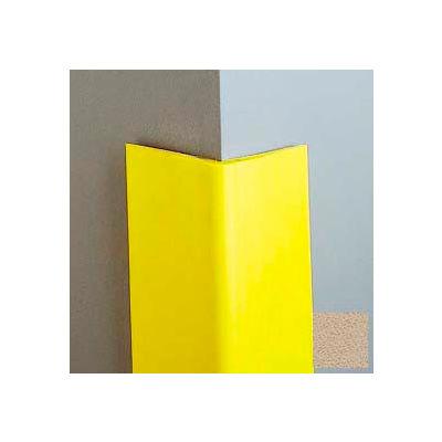 "Vinyl-4"" Wing Corner Guard, 8'H, Tan, Heavy Duty Vinyl"