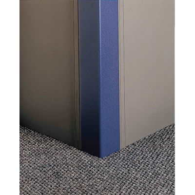 "Pawling® CGP-72-9-371 Flush-Mounted PETG Corner Guards, 2"" Wing x 9', 90°"