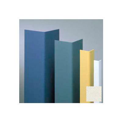 "Vinyl Surface Mounted Corner Guard, 90° Corner, 3/4"" Wings, 4'H, Monterey, Vinyl W/Tape"