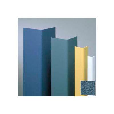 "Vinyl Surface Mounted Corner Guard, 90° Corner, 3/4"" Wings, 12'H, Windsor BL, Vinyl"