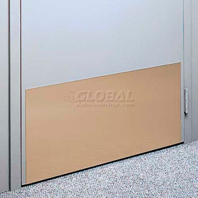 """Kick Plate Made From .040"""" PVC Sheet, 48"""" x 32"""", Dover White"""