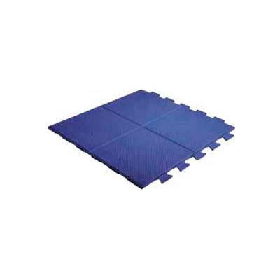 """Pawling's Pro-Tek® Aerobic Tile™ Interlocking Mat Tile, 9/16"""" Thick, 24""""L x 24""""W, Teal"""