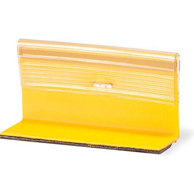 "4"" Flexible Temporary Raised Pavement Marker, 2-Way, Yellow - Pkg Qty 500"