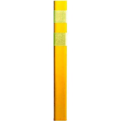 "FG300 36"" Traffic Channelizer Post, EFX Polyurethane, Yellow"