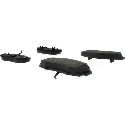 C-Tek Semi-Metallic Brake Pads with Shims, C-Tek 102.03530