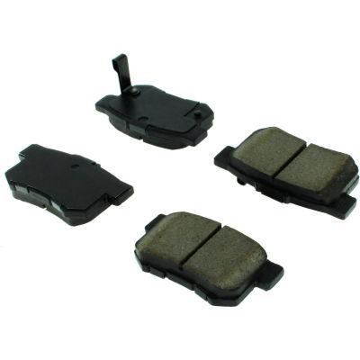 C-Tek Semi-Metallic Brake Pads with Shims, C-Tek 102.05360