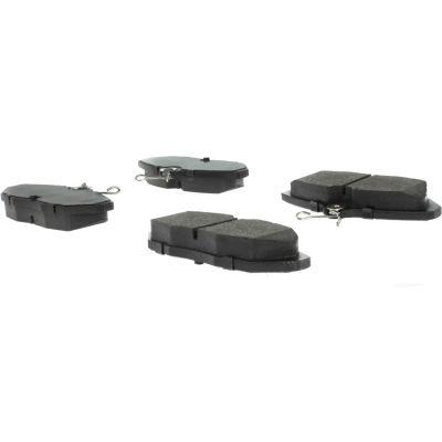 C-Tek Semi-Metallic Brake Pads with Shims, C-Tek 102.05990