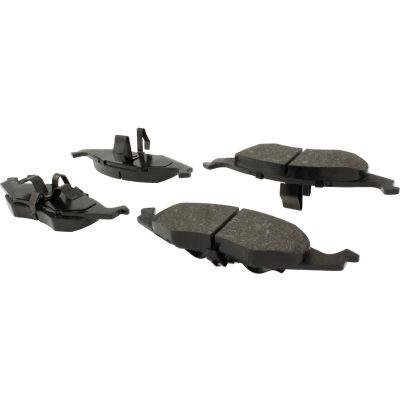 C-Tek Semi-Metallic Brake Pads with Shims, C-Tek 102.06330