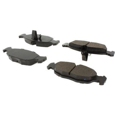 C-Tek Semi-Metallic Brake Pads with Shims, C-Tek 102.06881