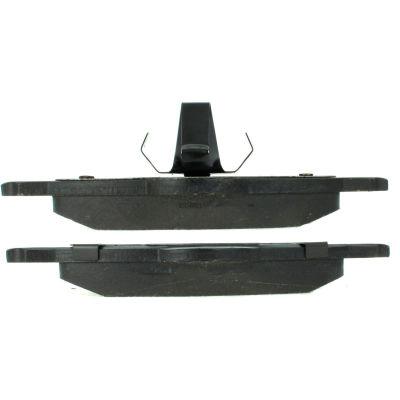 C-Tek Semi-Metallic Brake Pads with Shims, C-Tek 102.07050