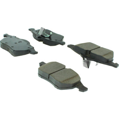 C-Tek Semi-Metallic Brake Pads with Shims, C-Tek 102.07360