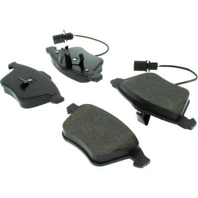 C-Tek Semi-Metallic Brake Pads with Shims, C-Tek 102.09150