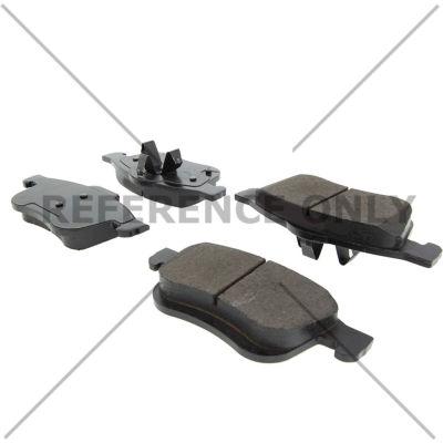 C-Tek Semi-Metallic Brake Pads with Shims, C-Tek 102.17210