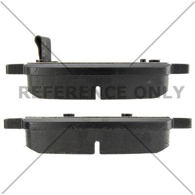 C-Tek Semi-Metallic Brake Pads with Shims, C-Tek 102.17220