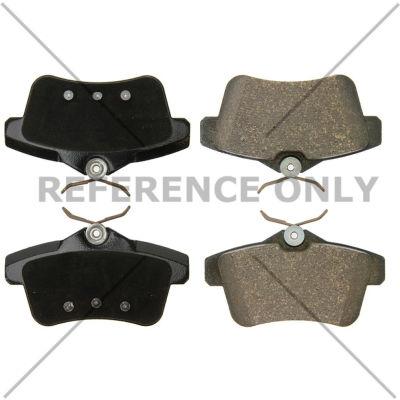 C-Tek Semi-Metallic Brake Pads with Shims, C-Tek 102.18310