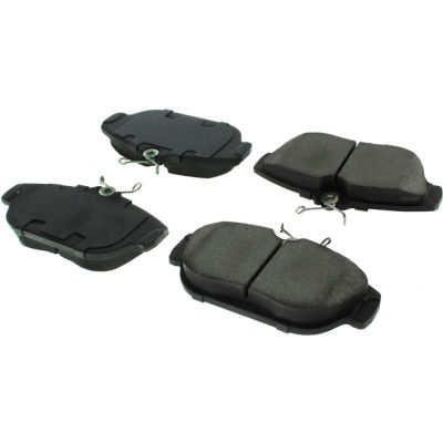 Posi Quiet Semi-Metallic Brake Pads with Hardware , Posi Quiet 104.05420