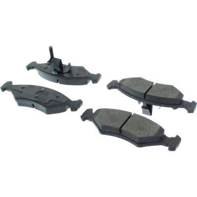 Posi Quiet Semi-Metallic Brake Pads with Hardware , Posi Quiet 104.07660