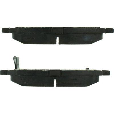 Posi Quiet Semi-Metallic Brake Pads with Hardware , Posi Quiet 104.08221
