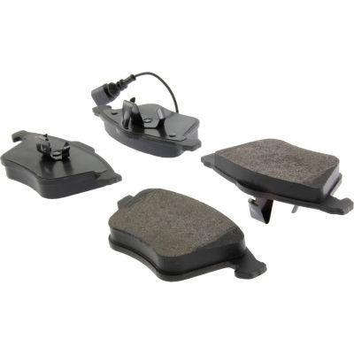 Posi Quiet Semi-Metallic Brake Pads with Hardware , Posi Quiet 104.09153